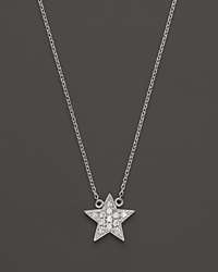 Dana Rebecca Designs Diamond Julianne Himiko Star Necklace In 14K White Gold 16