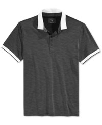 Guess Men's Polo Jet Black Multi