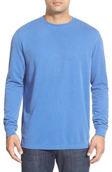 Men's Bugatchi Long Sleeve Crewneck Sweatshirt Royal