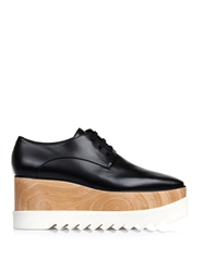 Stella Mccartney Elyse Lace Up Platform Shoes