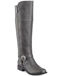 G By Guess Hailee Wide Calf Riding Boots Women's Shoes Stone