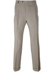 Raf Simons Straight Leg Trousers Nude And Neutrals