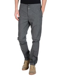 Closed Trousers Casual Trousers Men Grey
