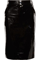 Gucci Patent Leather Pencil Skirt