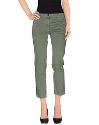 Jucca Trousers Casual Trousers Women Military Green