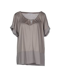 Fabiana Filippi Topwear T Shirts Women Grey