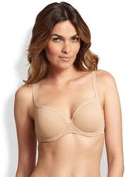 Huit Au Natural Padded Spacer Bra Nude
