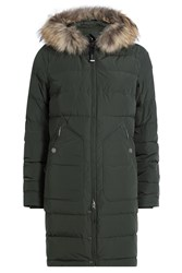 Parajumpers Light Long Bear Down Parka With Fur Trim Gr. S