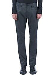 Pre Ss16 Calvin Klein Collection Graft Waxed Jeans Black