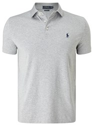 Ralph Lauren Polo Slim Fit Polo Shirt Andover Heather
