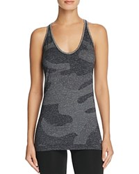 Hpe Cross X Seamless Camo Tank Dark Grey
