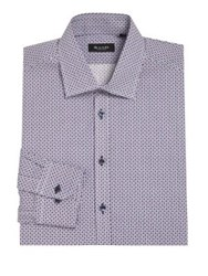 Sand Regular Fit Dotted Dress Shirt Multicolor