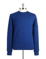 Ben Sherman Solid Sweatshirt Blue