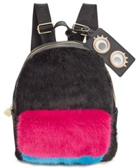 Betsey Johnson Xox Dreamworks Trolls Faux Fur Backpack Only At Macy's Multi