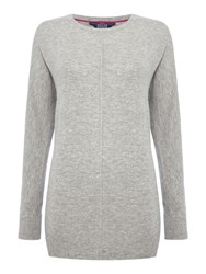 Joules Relaxed Fit Jumper Grey
