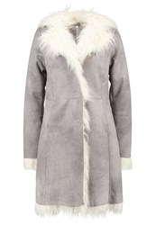 Freaky Nation Vancouver Short Coat Titan Offwhite Grey