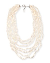 Seven Strand Akoya Pearl Necklace Assael