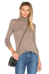 Vince Cowl Neck Tee Taupe