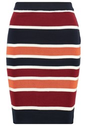New Look Petite Pencil Skirt Multi Multicoloured