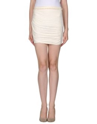 By Zoe Mini Skirts Beige