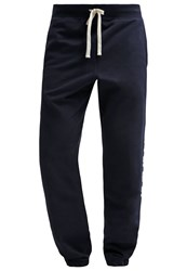 Gap Tracksuit Bottoms New Classic Navy Mottled Blue