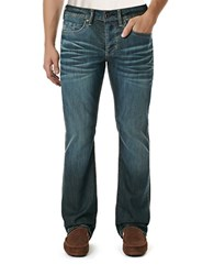 Buffalo David Bitton King Slim Boot Cut Jeans Indigo
