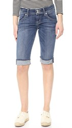 Hudson Palerme Knee Cuffed Shorts Alabaster Daze 2