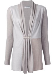 Fabiana Filippi V Neck Blouse Nude And Neutrals