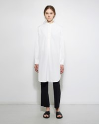 Dua An Long Tunic Shirt White