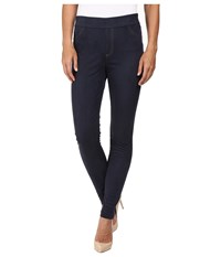 Wolford Velour Jeggings Midnight Women's Casual Pants Navy