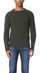 Native Youth Altitude Knit Sweater Olive