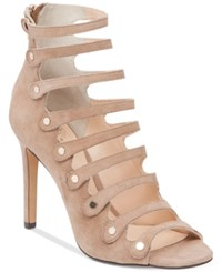 Vince Camuto Kanastas Strappy Gladiator Sandals Women's Shoes Khaki
