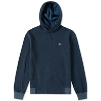 C.P. Company Patch Logo Popover Hoody Blue