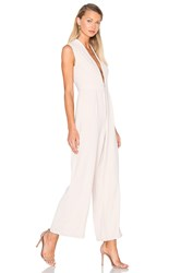 Finders Keepers Wild World Jumpsuit Beige