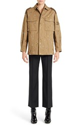 Women's Valentino Star Embroidered Military Jacket