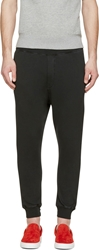 Dsquared Black New Dan Fit Lounge Pants