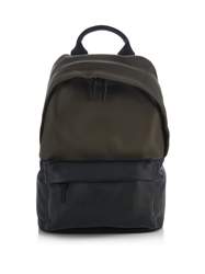 Mcq By Alexander Mcqueen Two Tone Leather Backpack