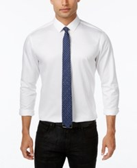 Inc International Concepts Men's Shirt And Glitter Tie Only At Macy's White