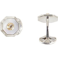 Deakin And Francis Men's Hexagonal Cufflinks No Color