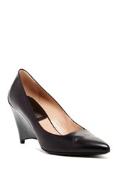 Furla Meridienne Wedge Pump Black