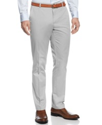 Calvin Klein Core Slim Fit Refined Twill Pants Grey Violet