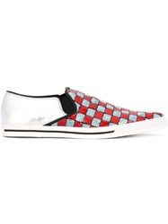 Marc By Marc Jacobs 'Delancey' Slip On Sneakers White