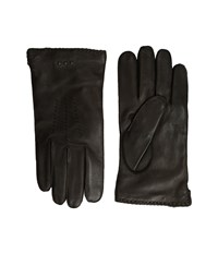 John Varvatos Whip Stitch Basic Chocolate Extreme Cold Weather Gloves Brown