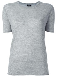 Joseph Knitted T Shirt Grey