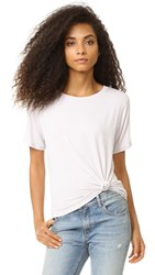 David Lerner Knotted Tee Oyster