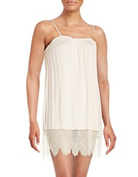 Joe's Jeans Lace Accented Chemise Pink