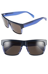 Marc By Marc Jacobs 56Mm Sunglasses Blue Transparent Blue Brown