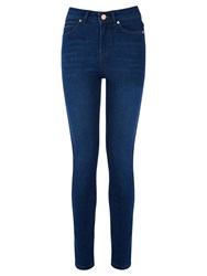 Oasis Lily High Waisted Ankle Grazer Jeans Denim