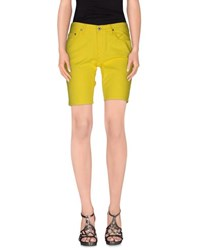Ralph Lauren Denim Denim Shorts Women Yellow