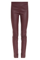 Adam By Adam Lippes Leather Side Zip Pant